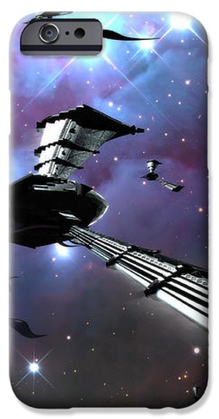 Xeelee Nightfighters, Inspired iPhone Case by Rhys Taylor