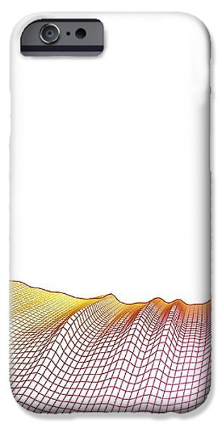 Abstract Line Pattern iPhone Case by Pasieka