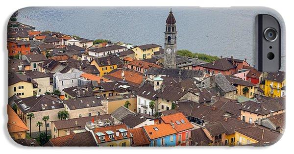 Ascona iPhone Cases - Ascona - Ticino iPhone Case by Joana Kruse