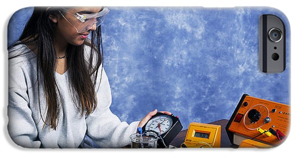 Electrical Equipment iPhone Cases - Physics Experiment iPhone Case by Andrew Lambert Photography