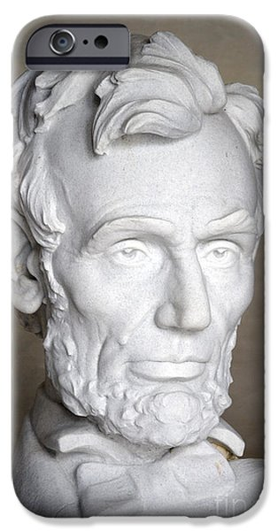 ABRAHAM LINCOLN (1809-1865) iPhone Case by Granger