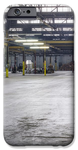 An Empty Industrial Building In Los iPhone Case by Dan Kaufman
