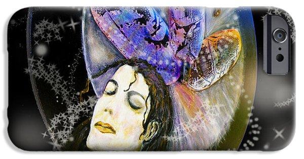 Michael Jackson Art iPhone Cases - Michael Jackson iPhone Case by Augusta Stylianou