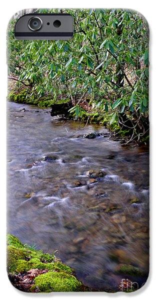 Middle Fork of Williams River iPhone Case by Thomas R Fletcher