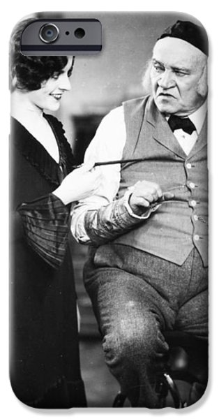 SILENT FILM STILL: OFFICES iPhone Case by Granger