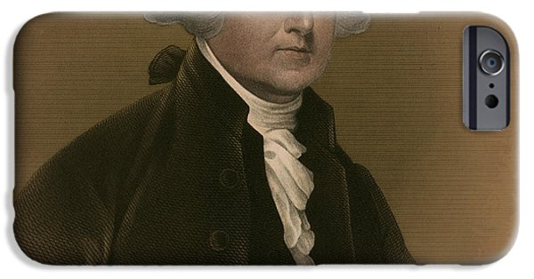 American Revolution iPhone Cases - John Adams, 2nd American President iPhone Case by Photo Researchers