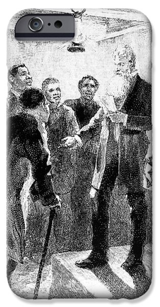 JOHN BROWN (1800-1859) iPhone Case by Granger