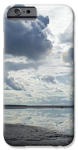 Oil Industry Pollution iPhone Case by David Nunuk