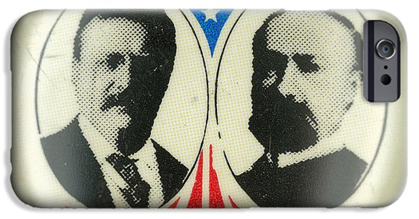 President iPhone Cases - Presidential Campaign: 1904 iPhone Case by Granger