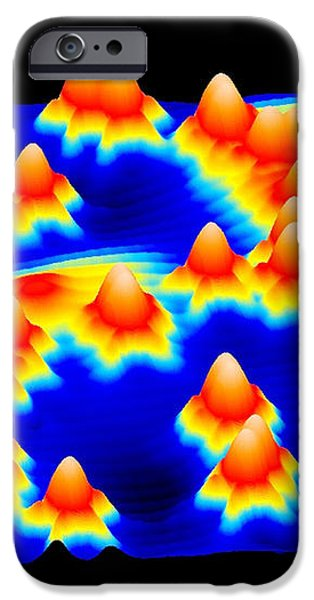 Spintronics Research, Stm iPhone Case by Drs A. Yazdani & D.j. Hornbaker