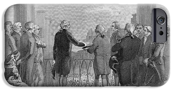 Inauguration iPhone Cases - Washington: Inauguration iPhone Case by Granger