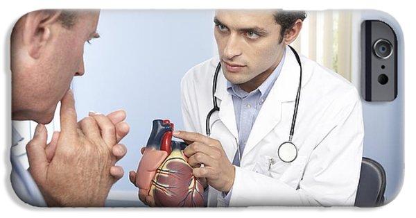 Consult iPhone Cases - Medical Consultation iPhone Case by Adam Gault