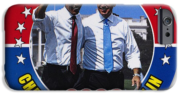 Vice President Biden iPhone Cases - Presidential Campaign, 2008 iPhone Case by Granger