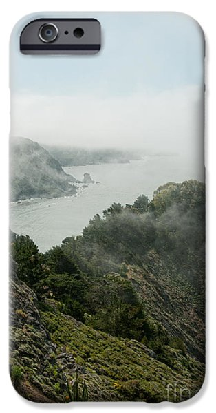 Sausalito Digital iPhone Cases - Sausalito iPhone Case by Carol Ailles