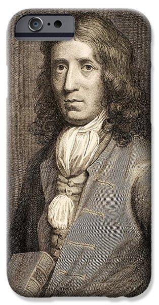 1698 William Dampier Pirate Naturalist iPhone Case by Paul D Stewart