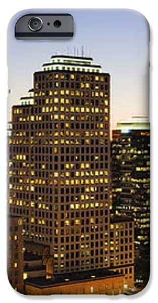 City Skyline iPhone Case by Jeremy Woodhouse