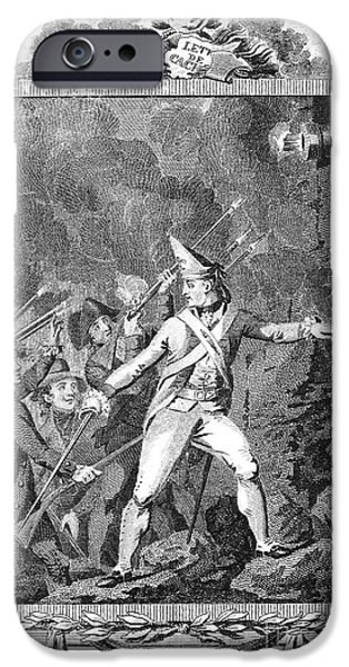 FRENCH REVOLUTION, 1789 iPhone Case by Granger