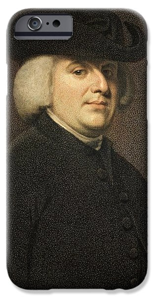 Creationism iPhone Cases - 1789 William Paley Portrait Naturalist iPhone Case by Paul D Stewart