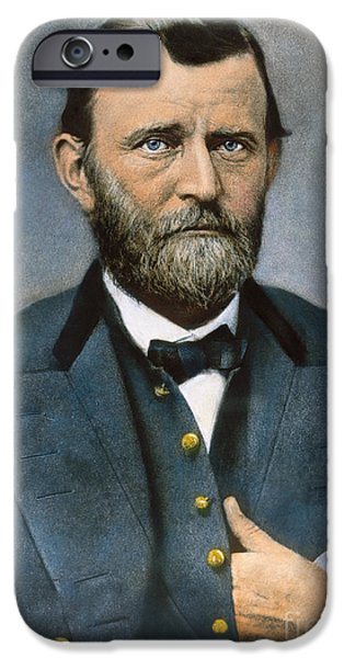 ULYSSES S. GRANT (1822-1885) iPhone Case by Granger