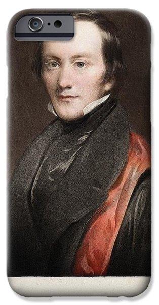 Moa iPhone Cases - 1841 Richard Owen Coined dinosaur iPhone Case by Paul D Stewart
