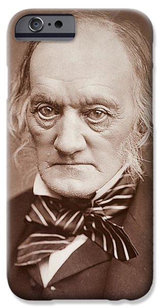 Moa iPhone Cases - 1878 Sir Richard Owen Photograph Portrait iPhone Case by Paul D Stewart