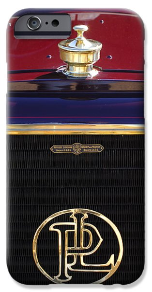 1907 Panhard et Levassor Hood Ornament 2 iPhone Case by Jill Reger