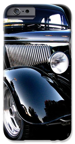 Fat Tire iPhone Cases - 1934 Ford Coupe iPhone Case by Peter Piatt
