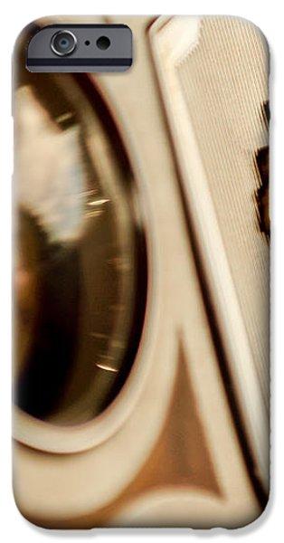 1934 Packard 1104 Super Eight Phaeton Emblem iPhone Case by Jill Reger