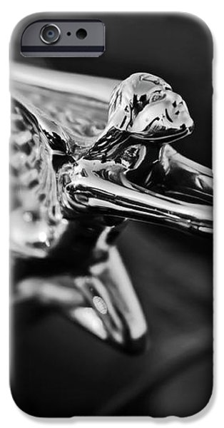 1934 Packard Hood Ornament 2 iPhone Case by Jill Reger