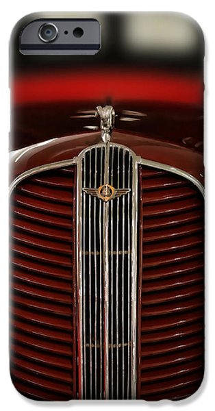 Delivery Truck iPhone Cases - 1937 Dodge Half-Ton Panel Delivery Truck iPhone Case by Gordon Dean II