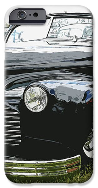 1940 Chevy Convertable iPhone Case by Steve McKinzie