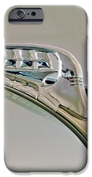 1940 Plymouth Hood Ornament 3 iPhone Case by Jill Reger