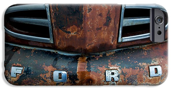 Daysray Photography iPhone Cases - 1948 Ford iPhone Case by Fran Riley