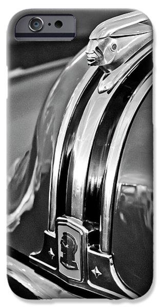 1948 Pontiac Chief Hood Ornament 4 iPhone Case by Jill Reger