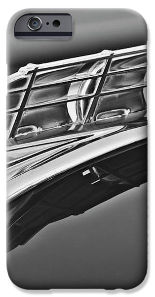 1949 Plymouth Hood Ornament 2 iPhone Case by Jill Reger