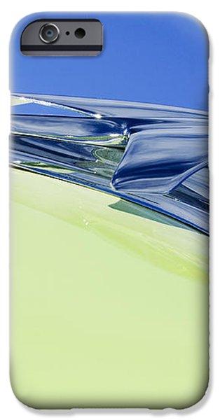 1953 Chevrolet Pickup Hood Ornament iPhone Case by Jill Reger