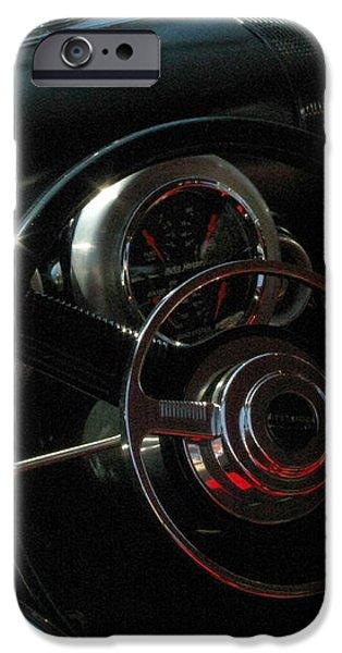 1953 Mercury Monterey Dash iPhone Case by Peter Piatt
