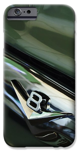 1956 Ford Truck iPhone Cases - 1956 Ford F-100 Truck Emblem 3 iPhone Case by Jill Reger