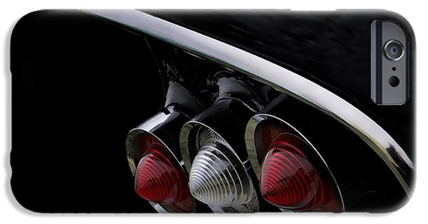 Tail iPhone Cases - 1958 Impala Tailfin iPhone Case by Douglas Pittman