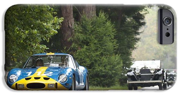 Ferrari 250 Gto iPhone Cases - 1962 Ferrari 250 GTO Scaglietti Berlinetta iPhone Case by Jill Reger