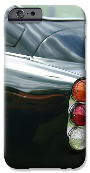 1963 Aston Martin DB4 Series V Vantage GT Tail Light iPhone Case by Jill Reger