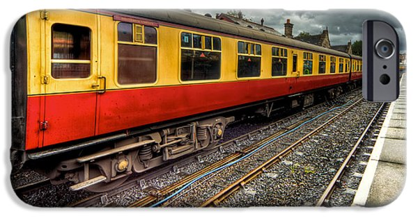 Railway iPhone Cases - 1963 Carriage  iPhone Case by Adrian Evans