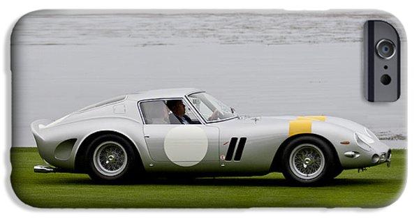 Ferrari 250 Gto iPhone Cases - 1963 Ferrari 250 GTO Scaglietti Berlinetta iPhone Case by Jill Reger