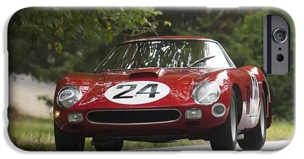Ferrari 250 Gto iPhone Cases - 1964 Ferrari 250 GTO 64 Scaglietti Berlinette iPhone Case by Jill Reger
