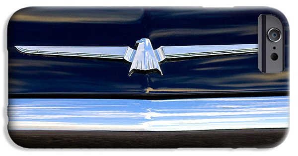 1964 Ford Emblem iPhone Cases - 1964 Ford Thunderbird Emblem iPhone Case by Jill Reger