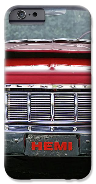 1964 Plymouth Savoy Hemi  iPhone Case by Gordon Dean II