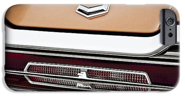 1964 Ford Emblem iPhone Cases - 1966 Ford Thunderbird iPhone Case by Gordon Dean II