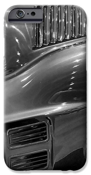 Slick iPhone Cases - 1967 Ford Mustang Fastback iPhone Case by Gordon Dean II