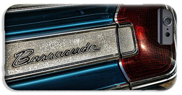 426 iPhone Cases - 1967 Plymouth Barracuda iPhone Case by Gordon Dean II