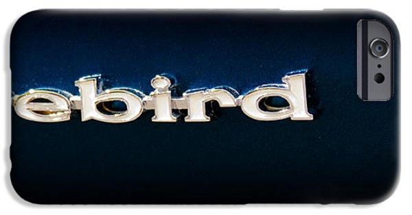 Automotive iPhone Cases - 1968 Pontiac Firebird iPhone Case by David Patterson